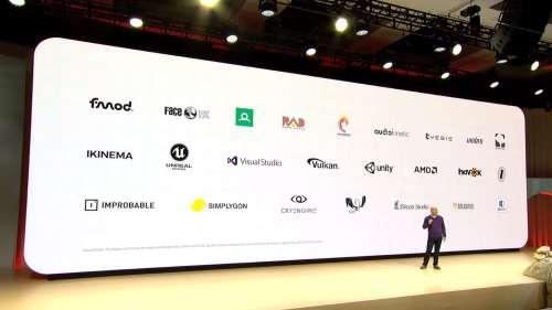Google Stadia Partenaires
