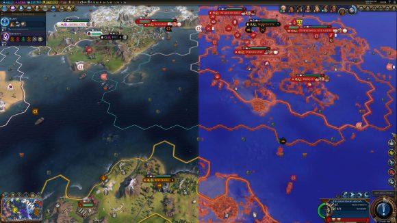 Microsoft VRS Tier 2 screenspace demo on Civilization VI