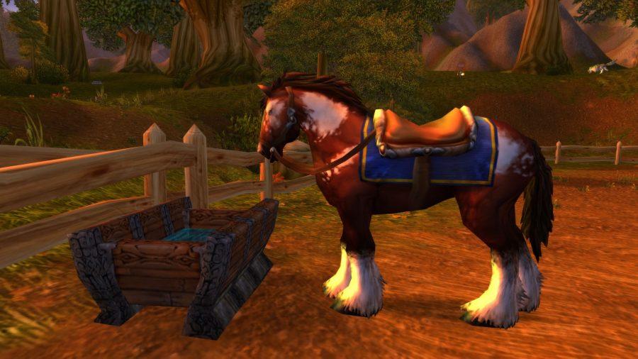 WoW Classic mounts, human horse