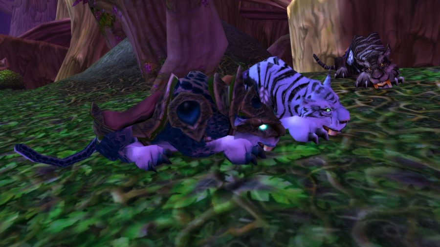 WoW Classic mounts, sabers