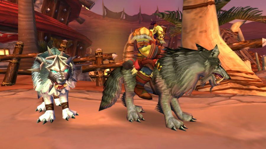 WoW Classic mounts, wolves