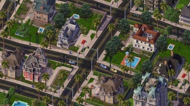 City construction game simcity4
