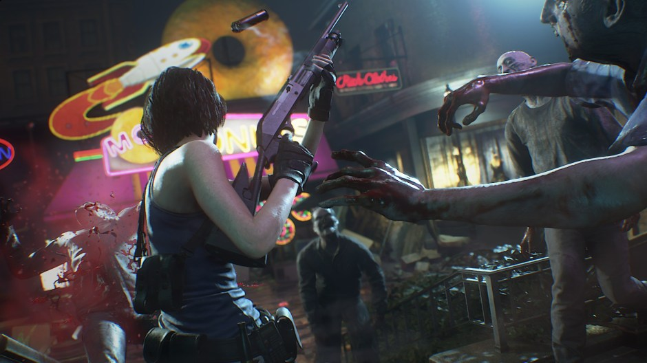 The first Resident Evil 3 remake gameplay is short, but shows off a new  dodge mechanic | PCGamesN