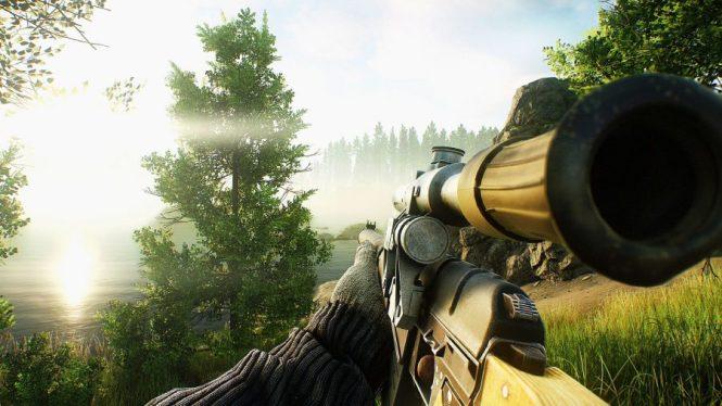 Escape from Tarkov sniper rifle