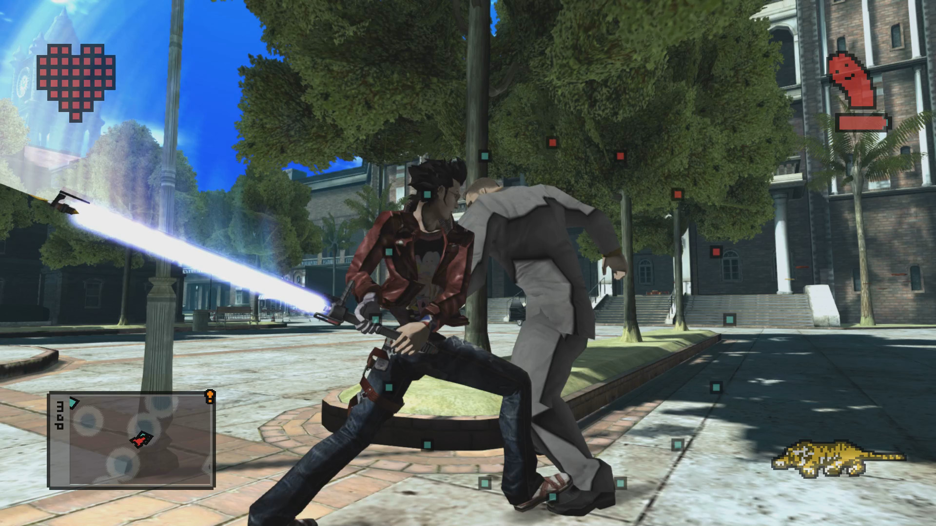 No More Heroes 1 & 2 HD remasters launch on Saturday laptop