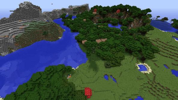 Minecraft seed -8565911531030881739