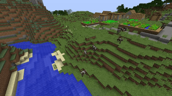 Minecraft seed -9065479248748140566