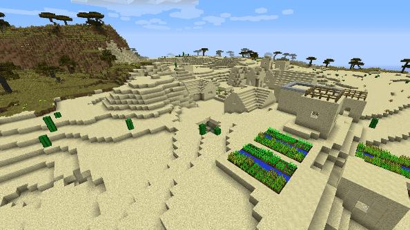 Minecraft seed -516687594611420526