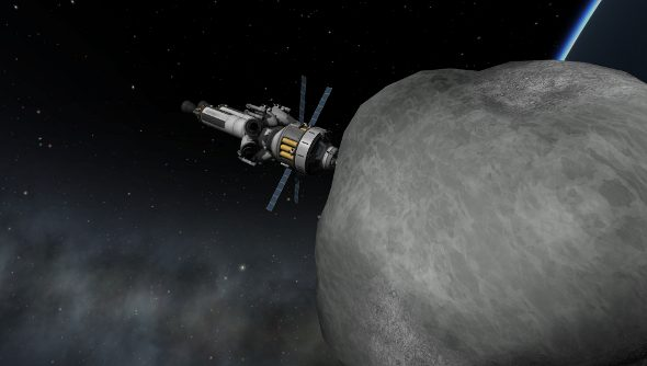 Kerbal Space Program launches asteroid-harassing update in ...