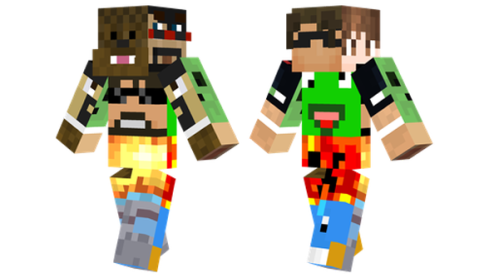 Girl Minecraft Youtubers Skins Path Decorations Pictures Full - Minecraft spielen youtube