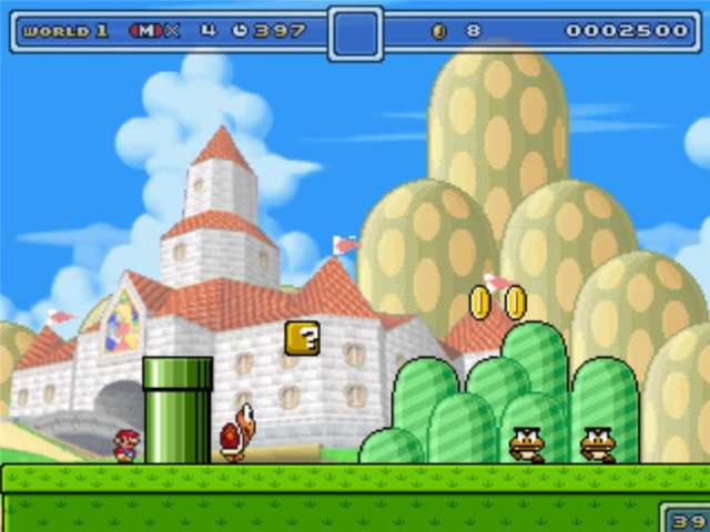 Super Mario Fusion PC Game Free Download Ripped 16 MB
