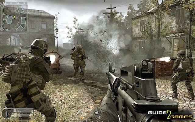 Call of Duty Modern Wrafare Compressed PC Game Download Free 2.6 GB