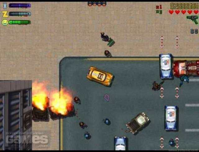 GTA 2 Compressed PC Game Free Download 32 MB