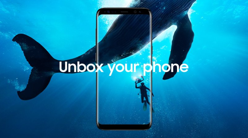 samsung s8 unboxing and hands on