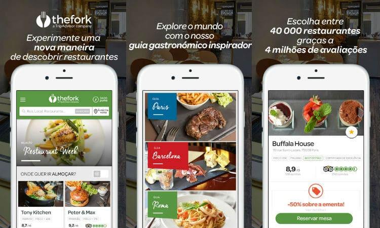 App do Dia - TheFork - PCGuia