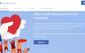 Facebook introduz ferramentas de angariação de fundos para organizações sem…
