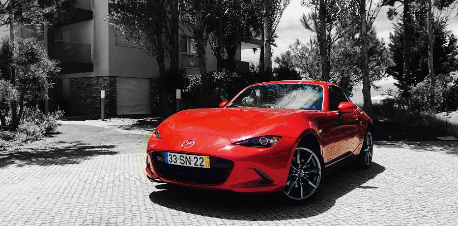 Mazda RED - Photoshop Color Splash