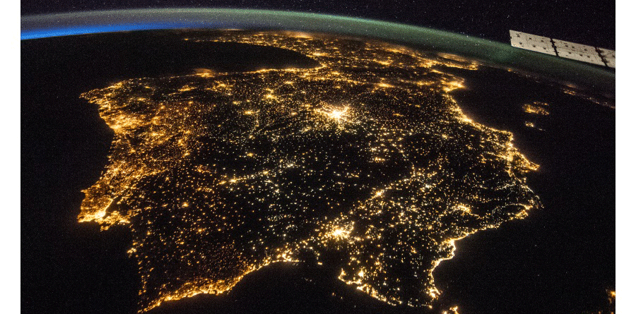 Portugal-from-space