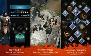 Terra-média: Sombras app