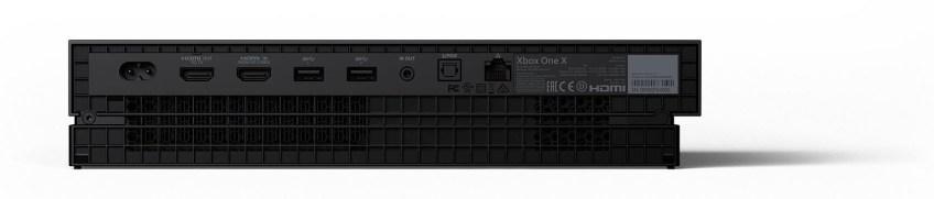 Traseira XBox One X