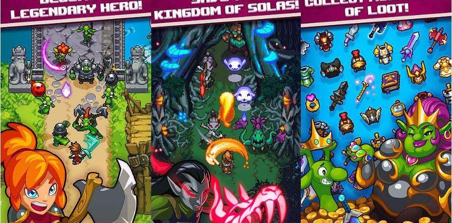 Dash Quest Heroes app