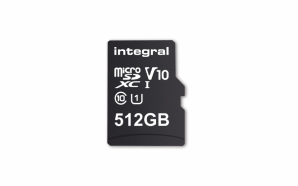 Integral Memory criou um cartão microSD de 512GB
