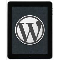 WordPress-iPad