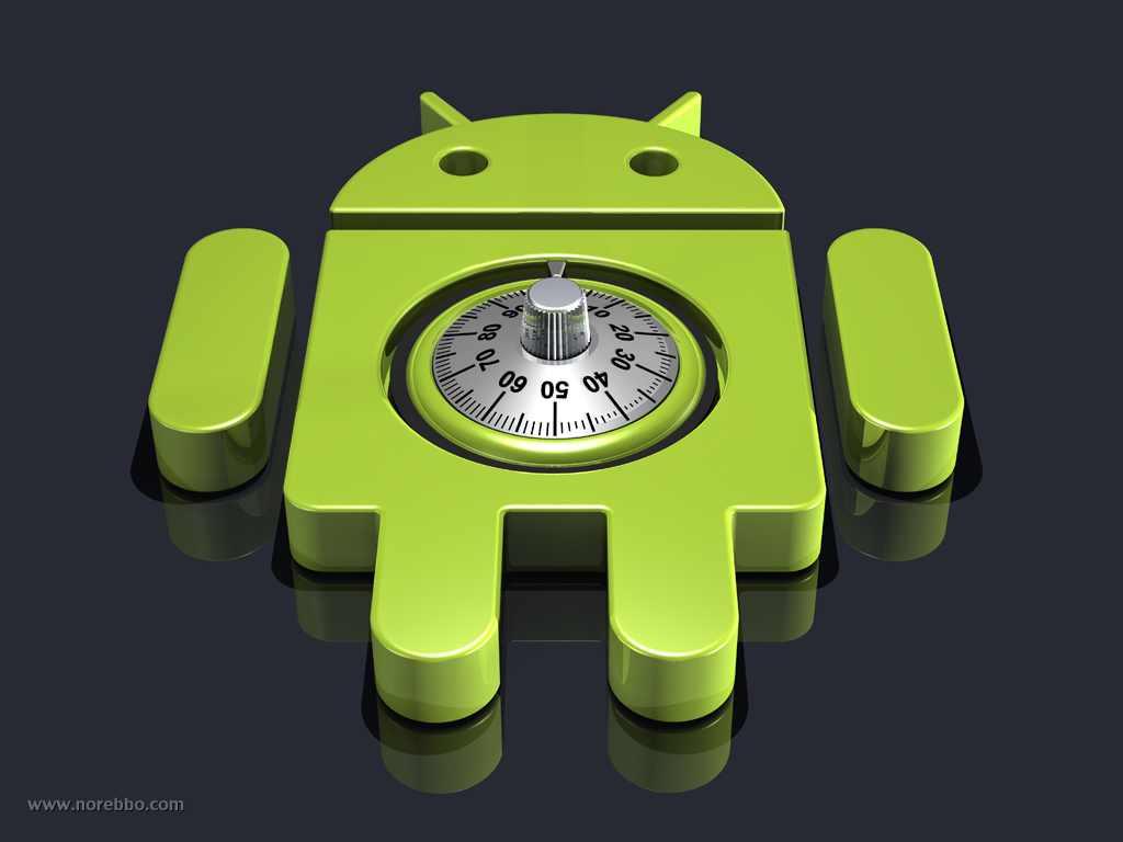 android logo combination lock