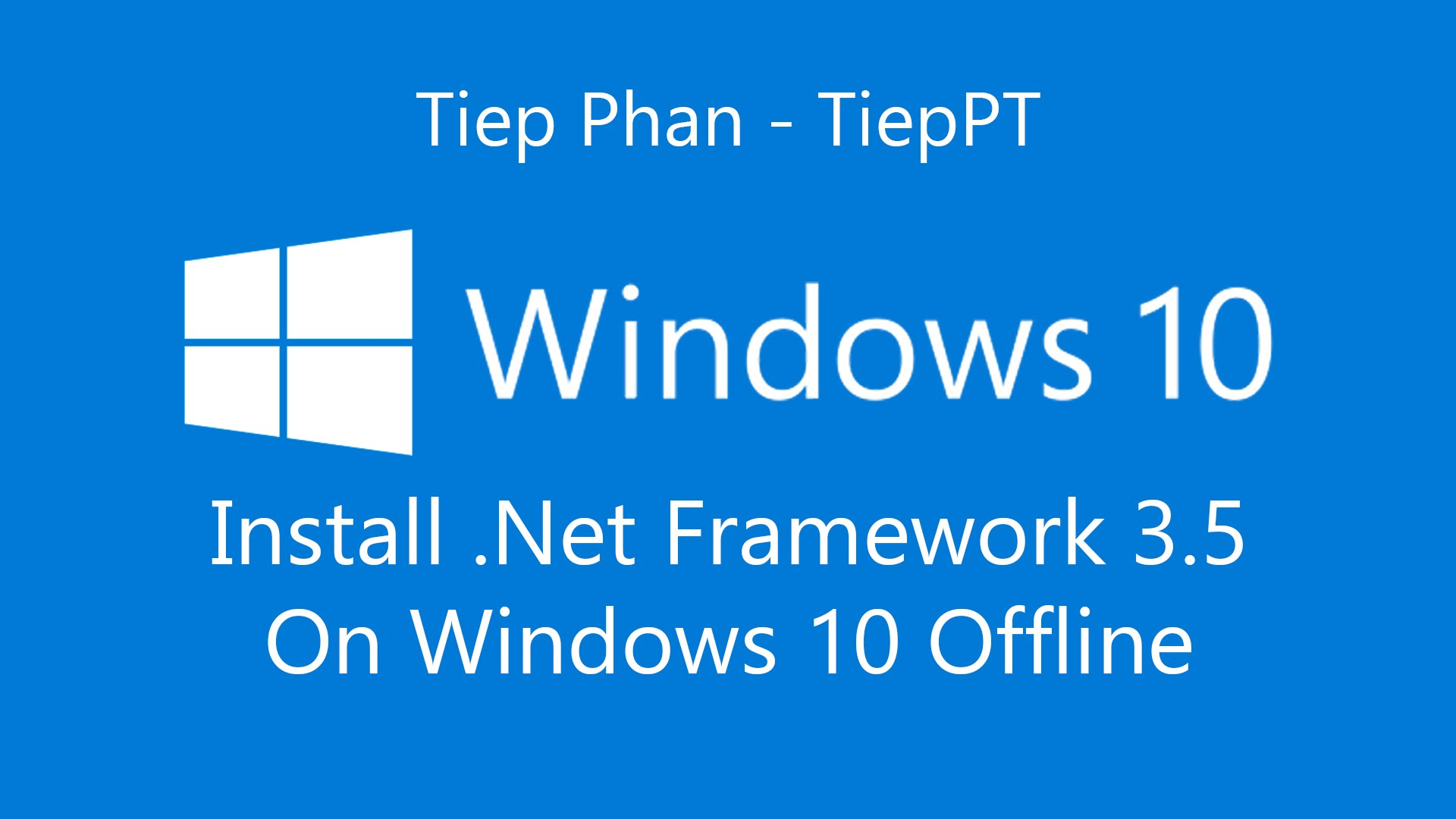 net framework in windows 10
