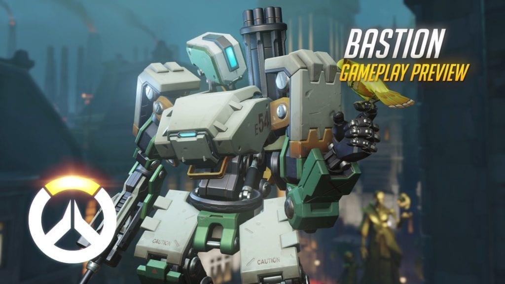 Overwatch Bastion Gameplay Video PC Invasion