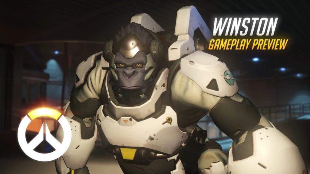 Overwatch Winston Gameplay PC Invasion