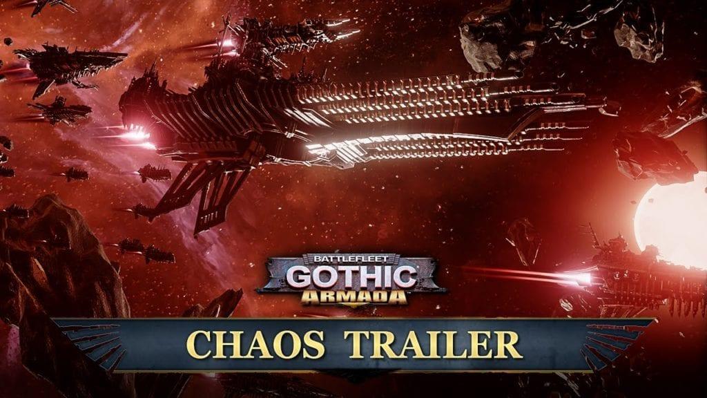 Battlefleet Gothic Armada Chaos Trailer PC Invasion