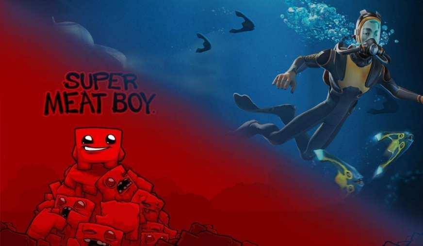Epic Games Store Free Subnautica Last Call, Super Meat Boy ...