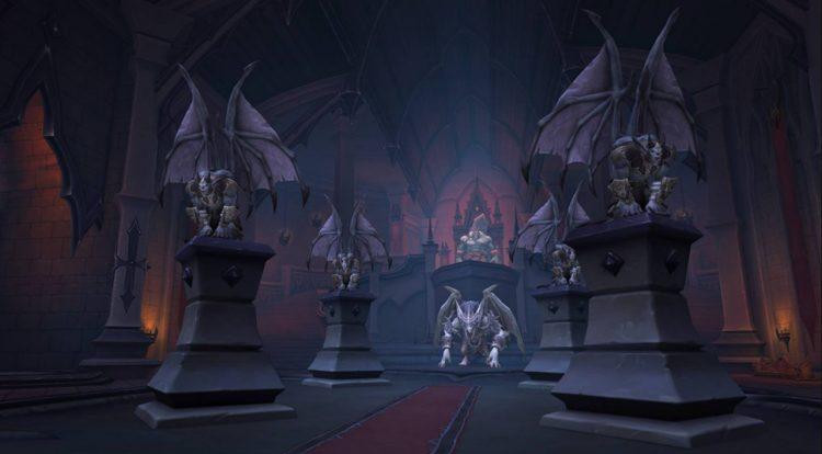 Objetivos de actualización de World Of Warcraft Shadowlands Castle Nathria Loot Drops (2)