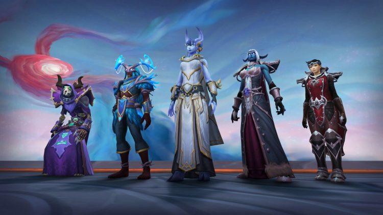 Las filtraciones de BlizzConline World of Warcraft revelan la actualización de Burning Crusade Classic y Chains of Domination (3)
