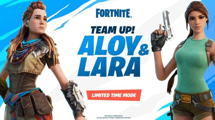 Epic retrasa el modo Fortnite de Aloy y Lara Croft para la próxima semana (2)