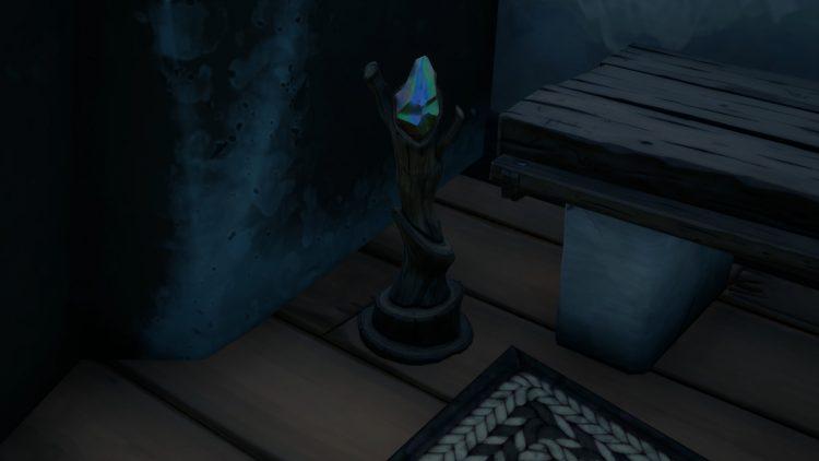 Artefacto de culto de localización de Fortnite