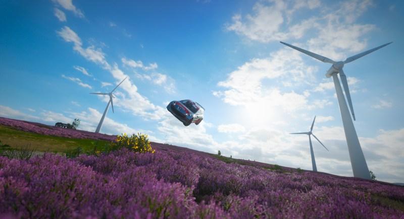 Forza Horizon 4 Windfield Rally Jumping