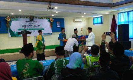 Peringati Harlah, PAC IPNU IPPNU Kecamatan Ngunut Adakan Lomba Paduan Suara