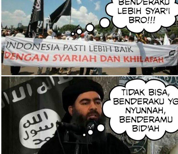 Bendera Umat Islam Liwa dan Rayah, Benarkah?