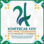 Launching Logo KONFERCAB XXIV IPNU IPPNU Tulungagung