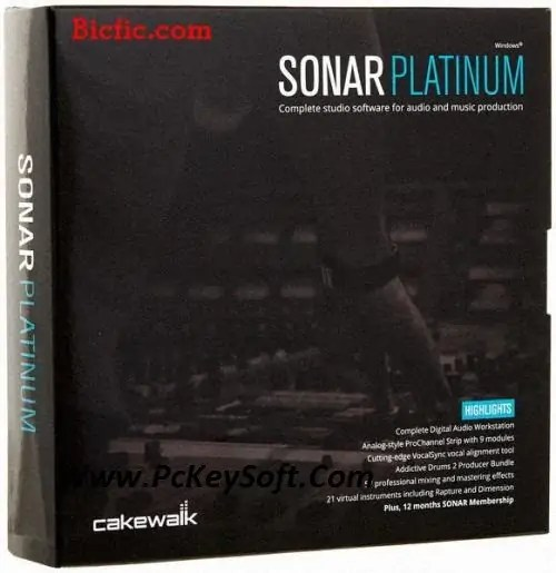 CakeWalk Sonar Platinum Crack Serial Download Latest Version 2017