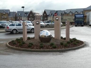Hospital roundabout