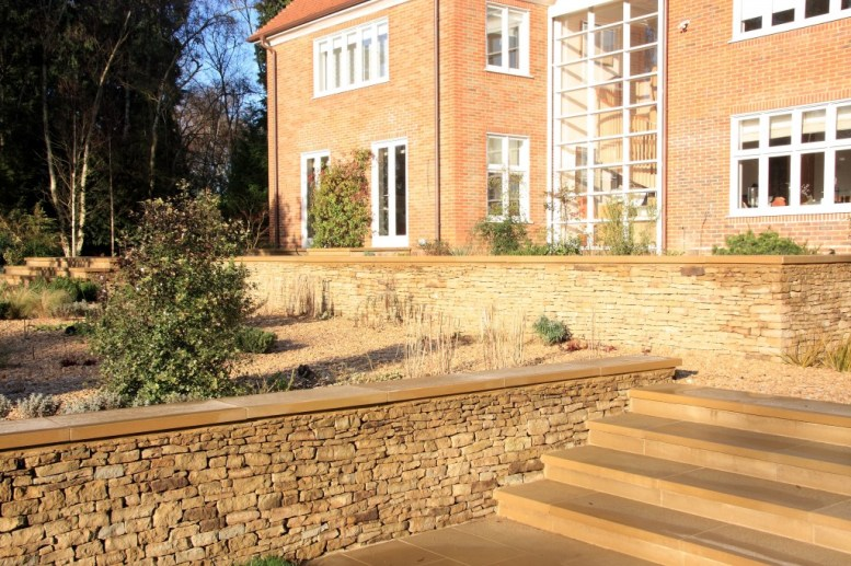 Garden Steps in Farnham