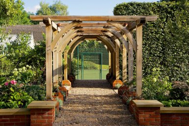 Pergola in Hampshire