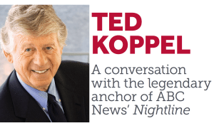 SBU Journalism Event: My Life – Ted Koppel