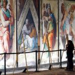 Michelangelo Sistine Chapel exhibit