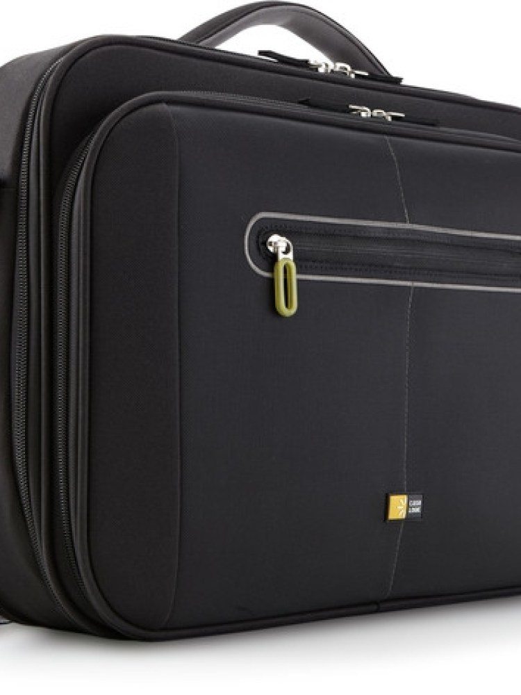 Geanta laptop 16' Case Logic, compartiment frontal de volum mare, buzunar frontal, nylon, black 'PNC216'