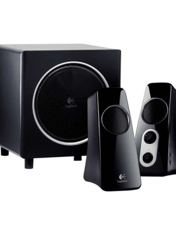 BOXE Logitech 2.1 'Z523'  RMS power: 40 W (21W + 2 x 9.5W), All-around sound, Black  '980-000321'   (include timbru verde 1 leu)
