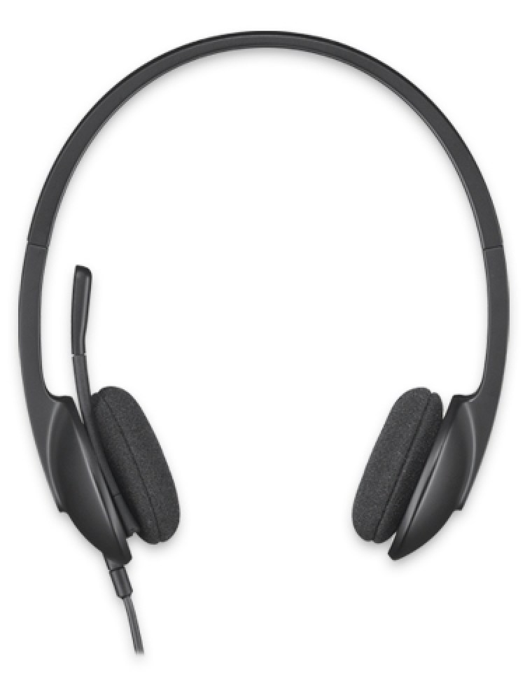 Casti Logitech  'H340' Stereo Headset with Microphone '981-000475'  (include timbru verde 0.01 lei)